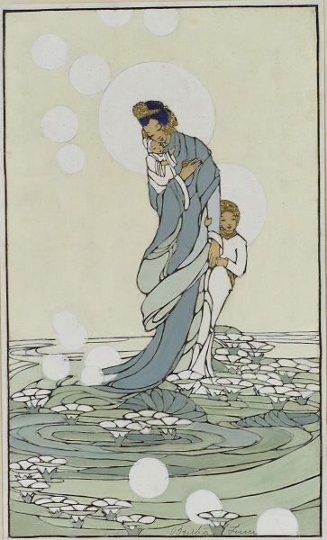L'attribut alt de cette image est vide, son nom de fichier est Comparaison-1929-Sea-of-Lilies-2.jpg.