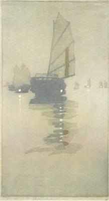 1908 (cat 29) Junks in Inland Sea