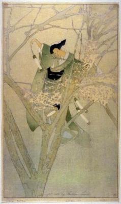 1913 (cat 58) O Yuki, the Frost Fairy / Yuki-Anna, the Frost Fairy