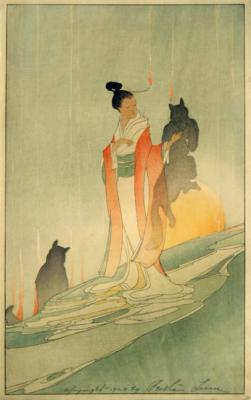 1916 (cat 65) The Fox Woman