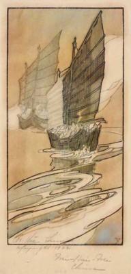 1922 (cat 79) Junks, Wei-hai-wei