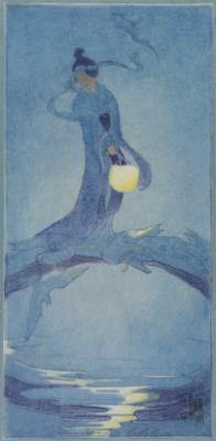 1907 (cat 18) Tanabata (reprint 1912)