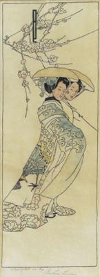 1908 (cat 22) Geisha Girls