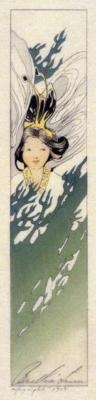 1908 (cat 25) Pine Tree Fairy - 4,6x22,5 cm