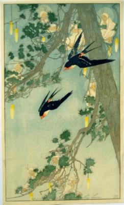 1913 (cat 56) Land of the Bluebird / Swallows