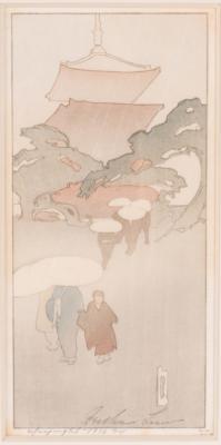 1916 (cat 62) Temple in Rain / Mist / Mist and Rain