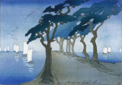 1912 (cat 49) Pines by the Sea