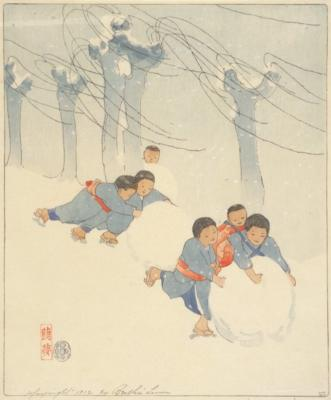 1909 (cat 32) Snow Balls