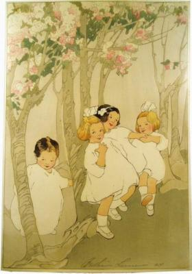 1912 (cat 45) Cherry Blossoms