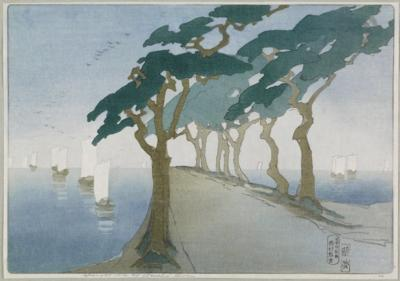 1912 (cat 50) Pines by the Sea