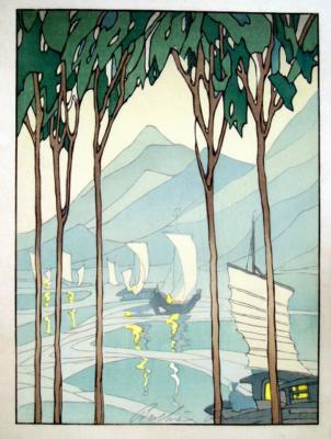 1922 (cat 78) Inland Sea