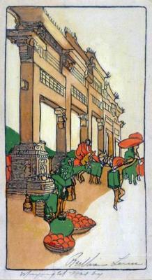 1922 (cat 81) Gateway of Kings, Wei-hai-wei (en relief)