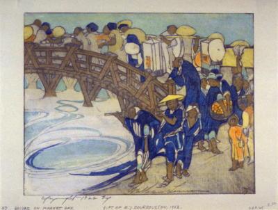 1922 (cat 82) Passing Crowds