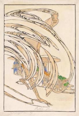 1924 (cat 091) Peking Dust (en relief)