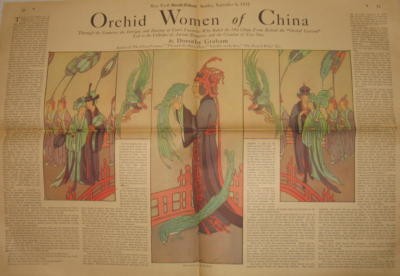 Orchid Women of China by Dorothy Graham