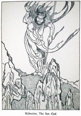 Kabunian the Sun God