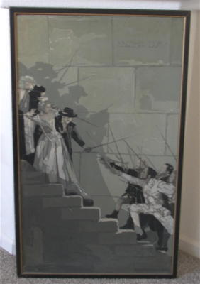 1927 ~ Battle on the Stairs