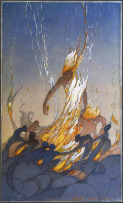 1929 (cat 137) God of Fire