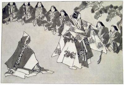 1933-12 - Asia - Japenese Ghost Dramas no theatre