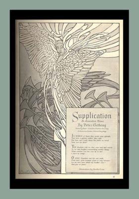 poem by Peter Gething  Bertha Lum supplication